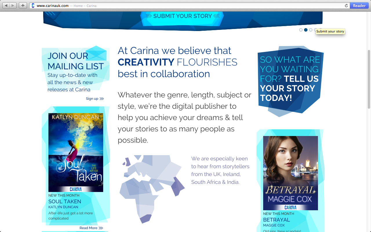 Carina UK main page 5.15.13